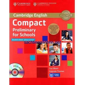 Cambridge English Compact Preliminary for Schools Student Book