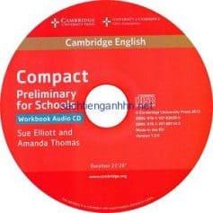 Cambridge English Compact Preliminary for Schools WB Audio CD