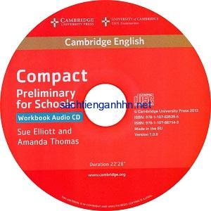 Cambridge English Compact Preliminary for Schools WB Audio CD