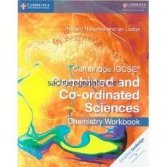 Cambridge IGCSE Combined and Co-ordinated Sciences Chemistry Workbook