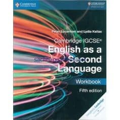 Cambridge IGCSE English as a Second Language Workbook 5th