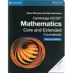 Cambridge IGCSE Mathematics Core and Extended Coursebook