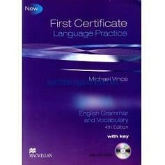 First Certificate Language Practice: English Grammar and Vocabulary 4th