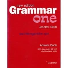 Grammar One Answer Book New edition