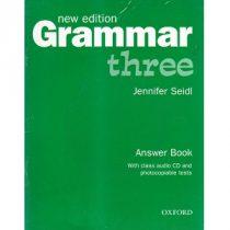 Grammar Three Answer Book New edition