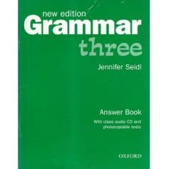 Grammar Three Answer Book New edition