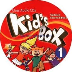 Kid's Box Updated 2nd Edition 1 Class Audio CD 21
