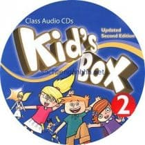 Kid's Box Updated 2nd Edition 2 Class Audio CD 1