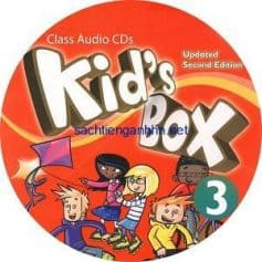 Kid's Box Updated 2nd Edition 3 Class Audio CDs