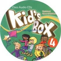 Kid's Box Updated 2nd Edition 4 Class Audio CD 1