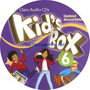 Kid's Box Updated 2nd Edition 6 Class Audio CD 4
