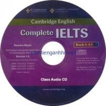 Complete IELTS Bands 5-6.5 Class Audio CD 1