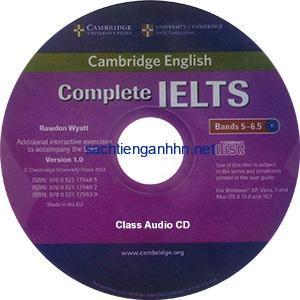 Complete IELTS Bands 5-6.5 Class Audio CD