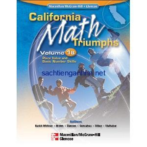 California Math Triumphs Place Value and Basic Number Skills 1B