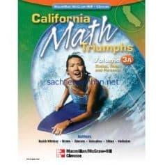 California Math Triumphs Ratios, Rates, and Percents, Volume 3A