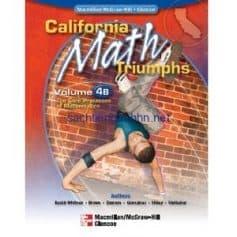 California Math Triumphs The Core Processes of Mathematics, Volume 4B