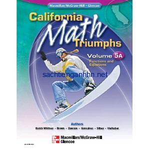 California Math Triumphs Functions and Equations, Volume 5A