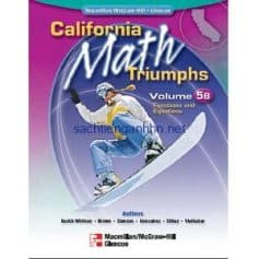 California Math Triumphs Functions and Equations, Volume 5B
