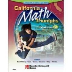 California Math Triumphs Measurement Volume 6A