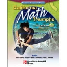 California Math Triumphs Measurement Volume 6B