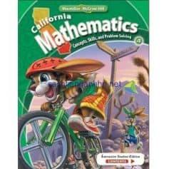 California Mathematics Concepts Skills and Problem Solving Grade 4