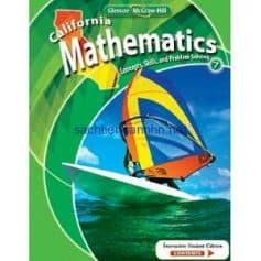 California Mathematics Concepts Skills and Problem Solving Grade 7