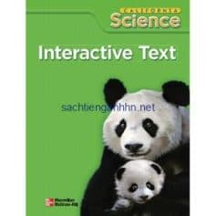 California Science 1 Interactive Text