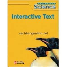 California Science 3 Interactive Text