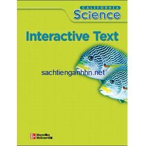 California Science Grade 5 Interactive Text