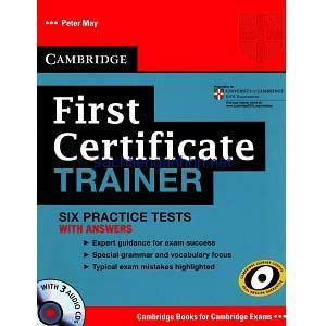 Cambridge First Certificate Trainer