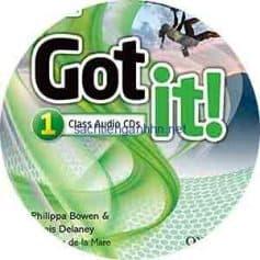 Got It! 1 Class Audio CD 2nd Edition