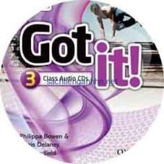 Got It! 3 Class Audio CD 2nd Edition