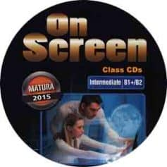 On Screen B1+ B2 Intermediate Class Audio CD