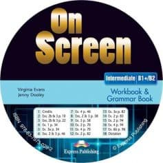 On Screen B1+ B2 Intermediate Workbook Audio CD