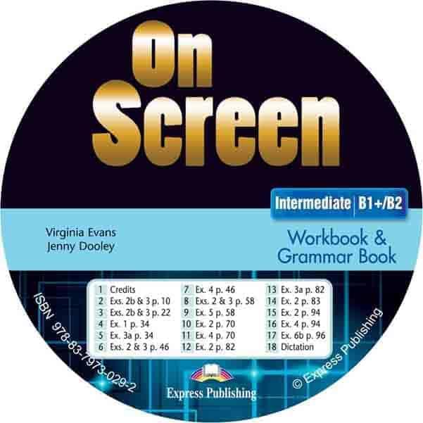 On Screen B1+ B2 Intermediate Workbook Audio CD