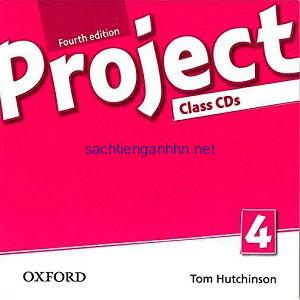 Project 4th Edition Level 4 Workbook Audio CD