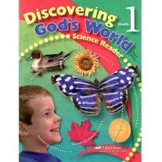 Discovering God's World - Abeka Grade 1 3rd Edition Science Series
