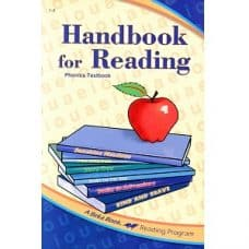 Handbook for Reading Phonics Textbook - Abeka Grade 1 to 3