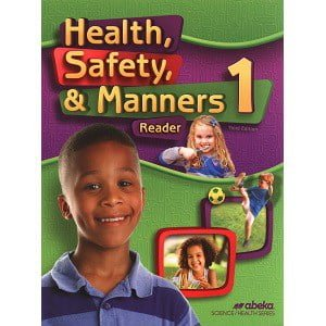 Health Safety & Manners 1 Abeka Grade 1 3rd