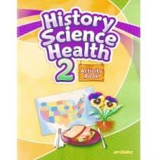 History Science Health 2 Activity Book - Abeka Grade 2