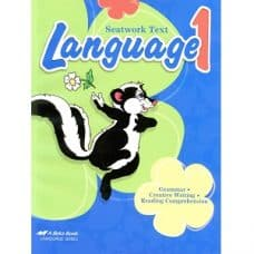 Language 1 Seatwork Text - Abeka Grade 1 Language Series