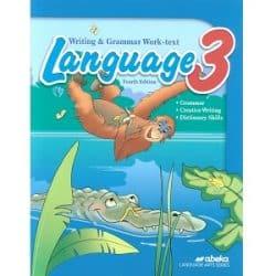 Language 3 Writing & Grammar Work-text