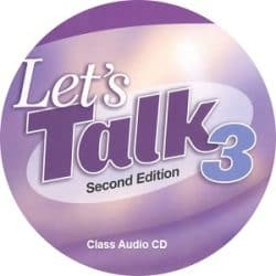 Let's Talk 3 2nd Class Audio CD