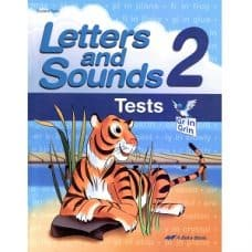 Letters and Sounds 2 Tests - Abeka Grade 2 3rd Edition