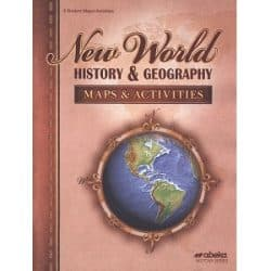 New World History & Geography Maps & Activities Abeka