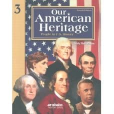 Our American Heritage - Abeka Grade 3 4th Edition History Series