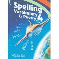 Spelling Vocabulary and Poetry 4 - Abeka Grade 4 Fifth Edition
