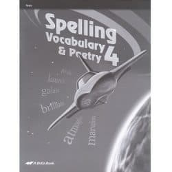 Spelling Vocabulary and Poetry 4 Tests