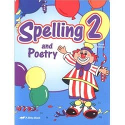 Spelling and Poetry 2 - Abeka Grade 2 Third Edition