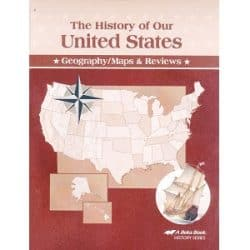 The History of Our United States Geography Maps & Reviews